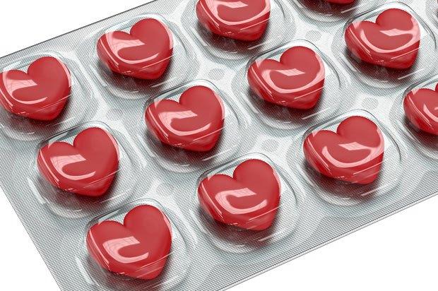 heart shaped drugs