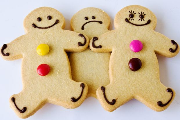 gingerbread threesome