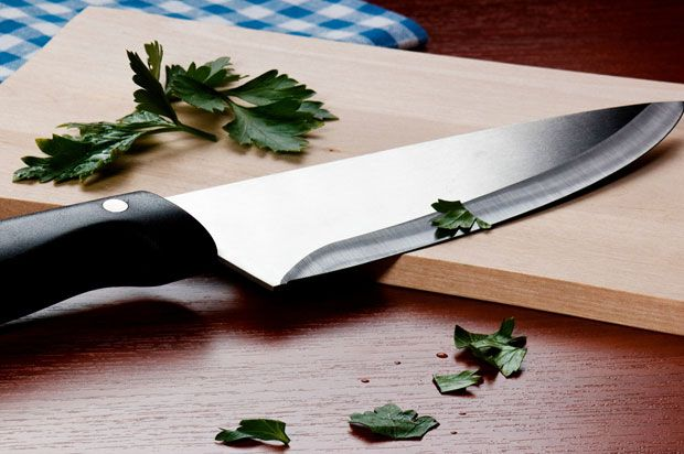 a kitchen knife