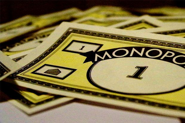 Monopoly money, one pound