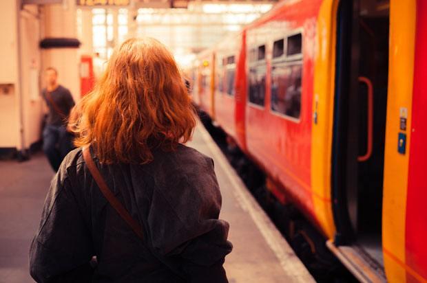 girl at platform