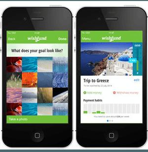 Wishfund app