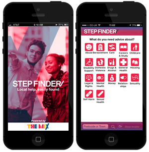 Step Finder app