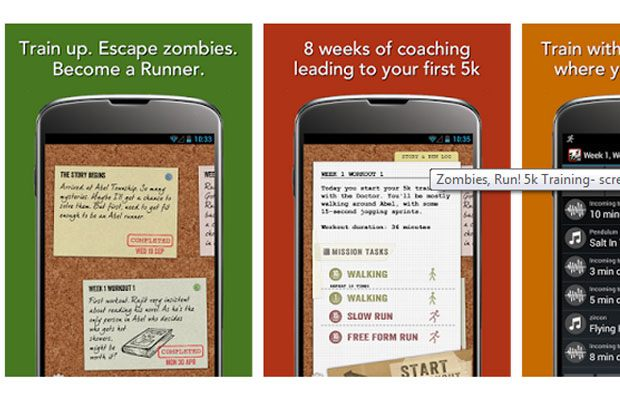 zombiesrun screenshot