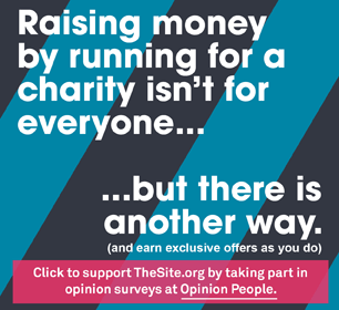 Raising money by running for a charity isn't for everyone, but there is another way