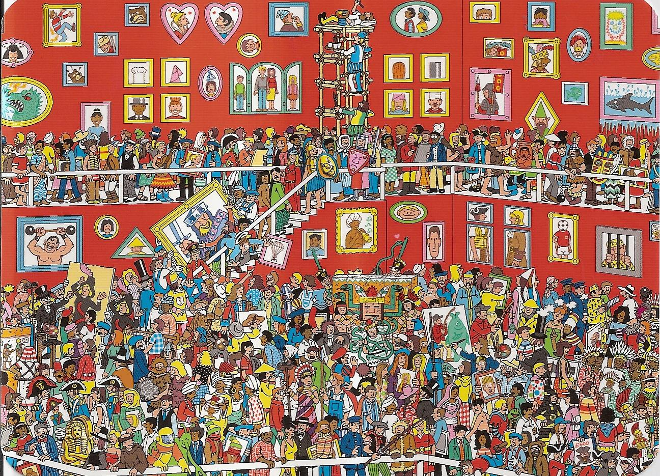 where's wally scene