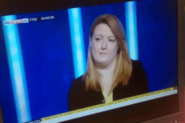 Caroline on Sky News