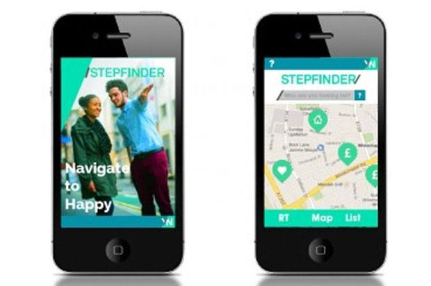 StepFinder app