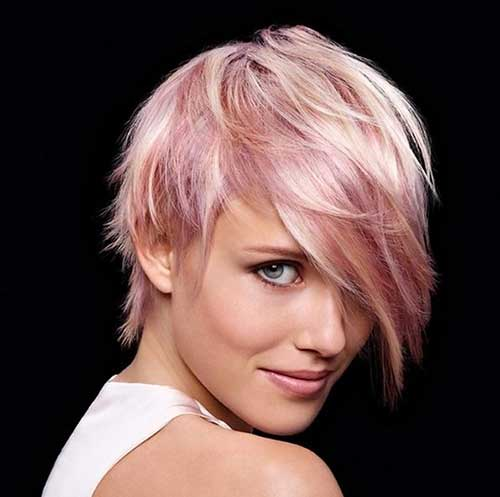 pink-pixie-cut-hairstyle