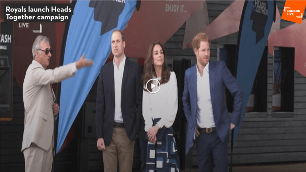 royals launch heads together campaign