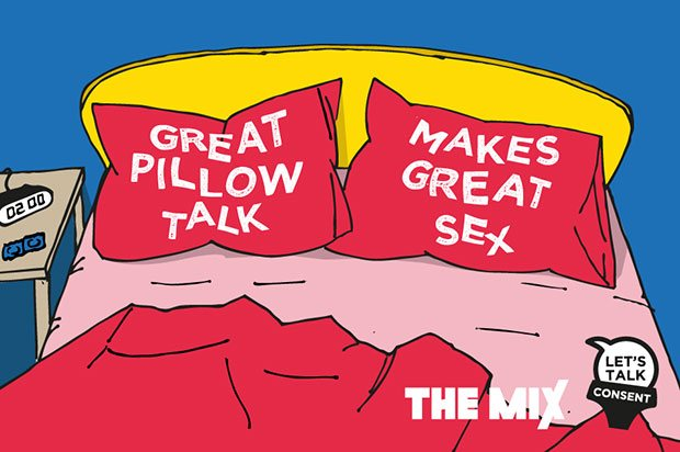 Messy Bedroom - sexual consent