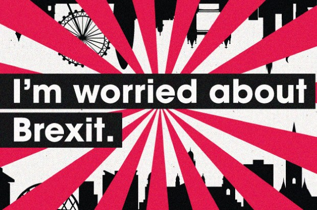 I'm worried about Brexit
