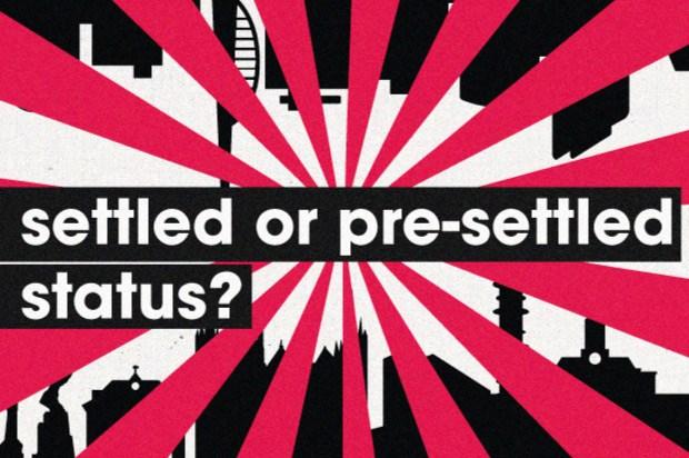 settled or presettled status
